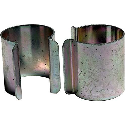Bâches Direct Lot de 20 clips métal revêtement Zinc 25mm x 30mm pour serre - Coloris aléatoire