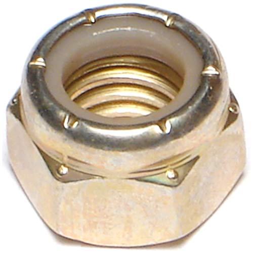 Hard-to-Find Fastener 014973285289 Grade 8 Coarse Lock Nuts, 7/16-14, Piece-25
