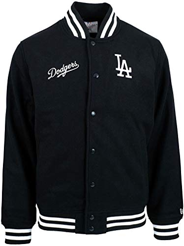 New Era Los Angeles Dodgers Team Apparel MLB Bomberjacke Schwarz, XXL