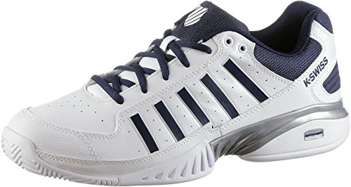 K-Swiss Performance Herren Receiver Iv Tennisschuhe, Weiß (White/Navy 37), 43 EU