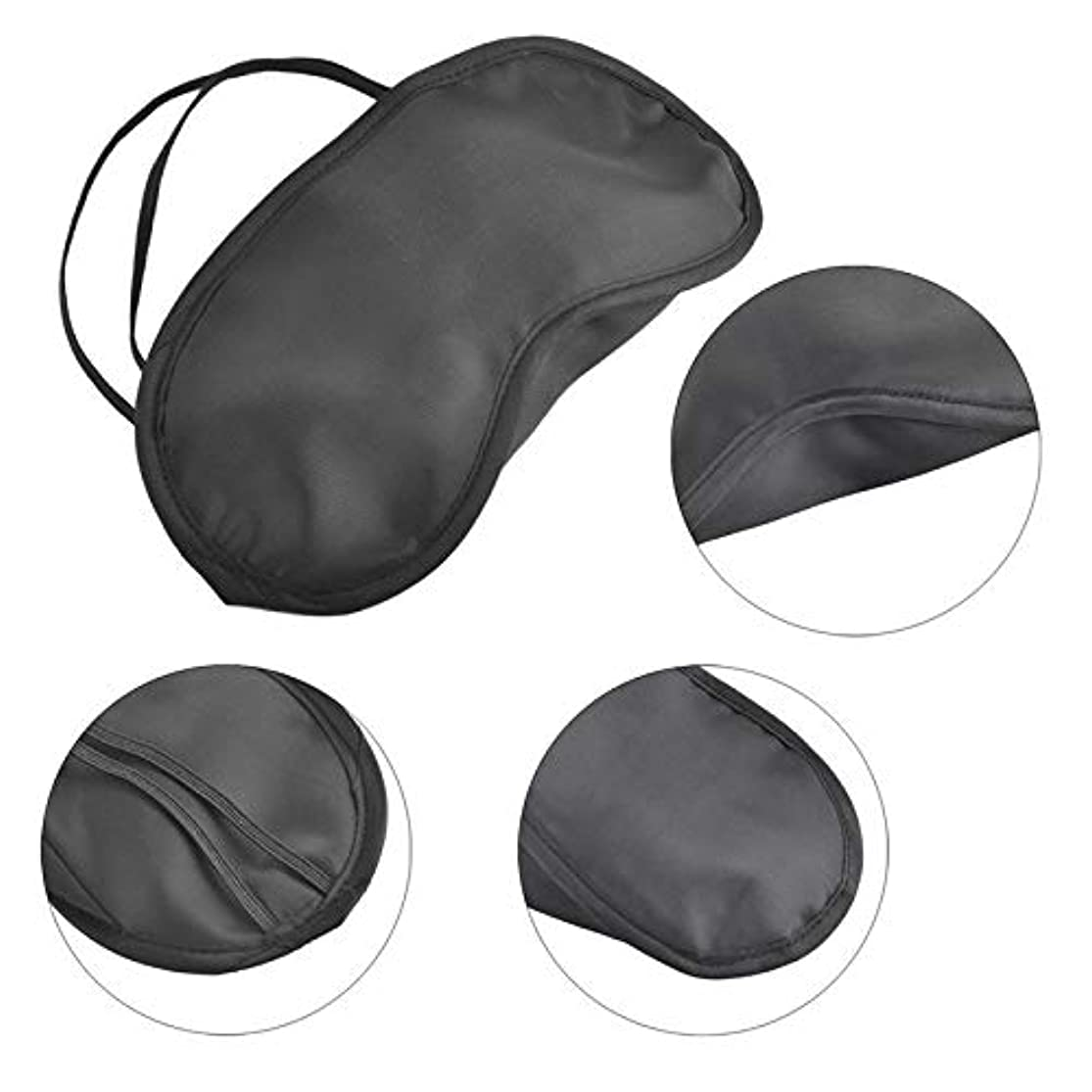 対象レガシー応援するNOTE 50ピーススリープマスクシェードナチュラルスリーピングアイアイシェードカバーアイパッチ女性男性ソフトポータブル目隠し旅行接眼加湿器