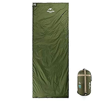 Naturehike Ultra Lightweight Sleeping Bag for Warm Weather, Portable Waterproof Compact Lightweight Sleeping Bag for Adults Kids, Backpacking, Camping, Hiking with Compression Sack