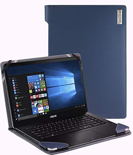 Broonel - Serie de perfiles - Estuche para De Cuero Azul Compatible con La ASUS Zenbook Pro UX550