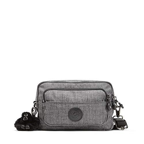 Kipling Damen Multiple Sport Umhängetasche, Grau (Cotton Grey), 20 x 13 x 7.5 cm