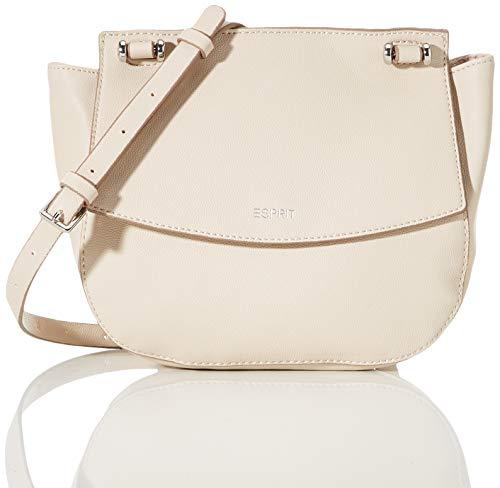 Esprit Accessoires dames Alisonshouldtas schoudertas, grijs (Ice), 9x21x23 cm