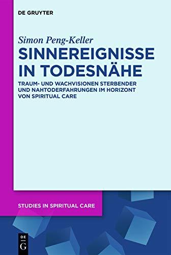 Sinnereignisse in Todesnähe: Traum- und Wachvisionen Sterbender und Nahtoderfahrungen im Horizont von Spiritual Care (Studies in Spiritual Care 1)