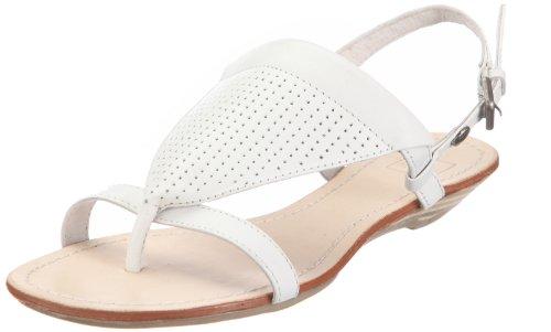 Mexx Damen Yael-Toestrap Fashion-Sandalen, Weiss/White, 39 EU