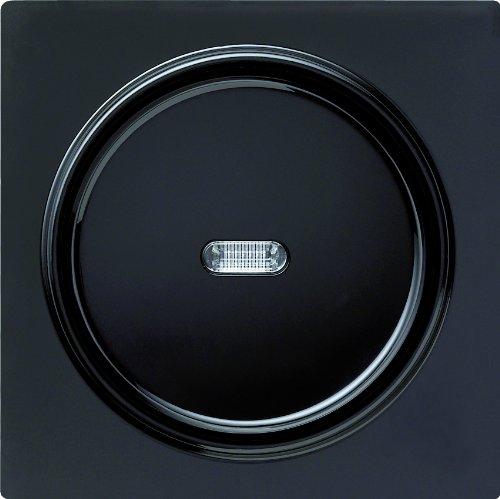 Gira 013647 toetsschakelaar controle verandering S-Color, zwart