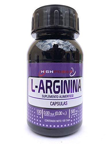 Arginina 500 Mg 100 Cápsulas.