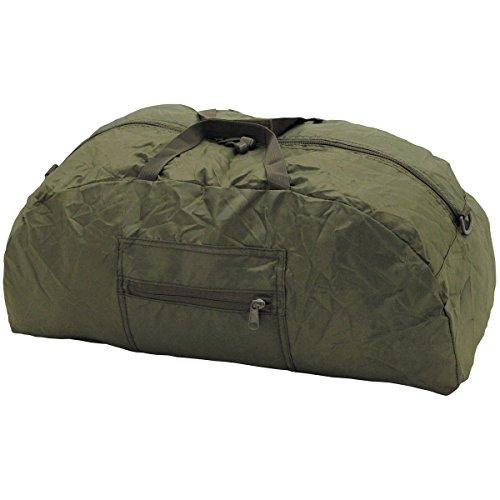 MFH Faltbare Bekleidungstasche 42 Liter Transporttasche Reisetasche Tragetasche (Oliv)
