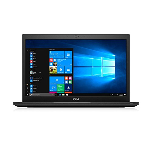 Dell Latitude 7480 14-Inch Laptop - (Intel Core i7-6600U 2.8 GHz, 8 GB RAM, 256 GB SSD, Windows 10 Pro) (Black) (Renewed)