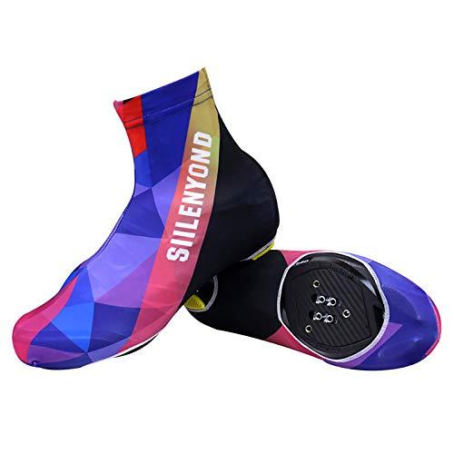 Sportschuhe Unisex Fahrrad Überschuhe Multistretch-Neopren Wasserdicht Fahrradschuhe Leichtgewichts Gemütlich Mountainbike Sneaker Modetrend Mehrfarbig Schuhüberzug