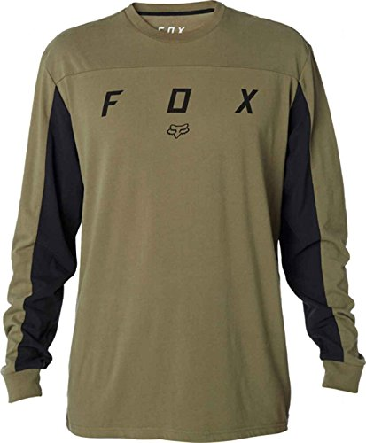 Fox Hawliss Ls Airline Tee Fatigue Green