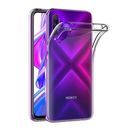 AICEK Hülle Compatible für Honor 9X Pro Transparent Silikon Schutzhülle für Huawei Honor 9X Pro Hülle Clear Durchsichtige TPU Bumper Honor 9X Pro Handyhülle (6,59 Zoll)