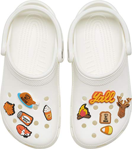 Crocs Jibbitz Shoe Charm 10-Pack   Personalize with Jibbitz for Crocs Holiday One-Size