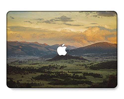 GangdaoCase Carcasa rígida de plástico ultra delgada para MacBook Pro de 13 pulgadas con/sin barra táctil/Touch ID A2338 M1/A2289/A2251/A2159/A1989/A1706/A1708 (Painting B 0435)