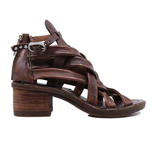 A.S. 98 690033 - Sandalias de mujer de piel Marrón Size: 38 EU