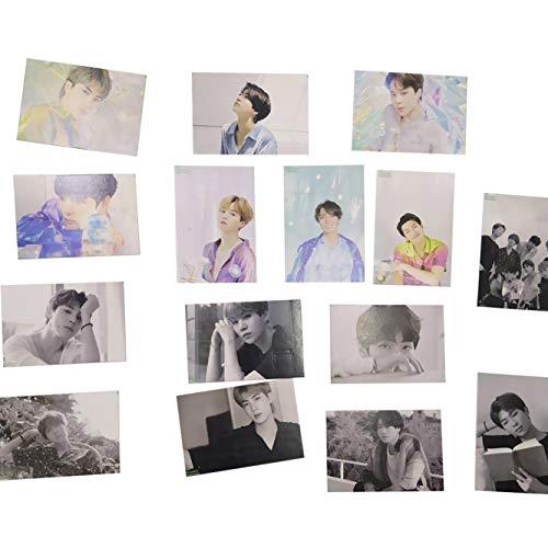 Rushi Inconceivable 15 Stck/Set New Kpop 2020 Season Greetings Mini Lomo Karte Fotokarten Sammelpostkarte 15 Stck.