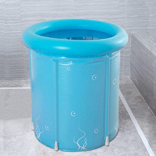 Bañera portátil plegable inflable bañera adulto Spa caliente bañera sauna baño vapor baño cubo