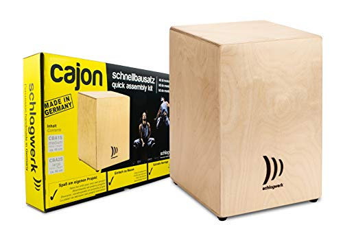 Cajon Schlagwerk CBA1S Bausatz Medium Natural