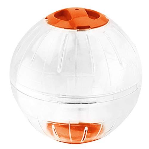 Qinghengyong El Ejercicio de la Bola Animal Juquetes Bola de Juguetes Juguetes de plástico Perforada Ejercicio Correr Correr Accesorios, Naranja Naranja