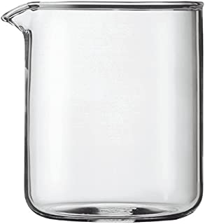 Bodum Replacement Glass Two Cup, 17-Ounce Spare Glass