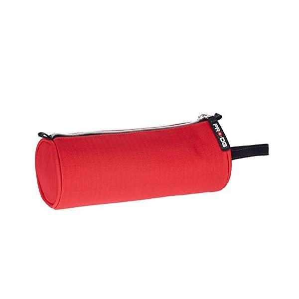 Pro-Dg Estuche portatodo Cilindro, Color Rojo, 22 cm (Karactermanía 55591)