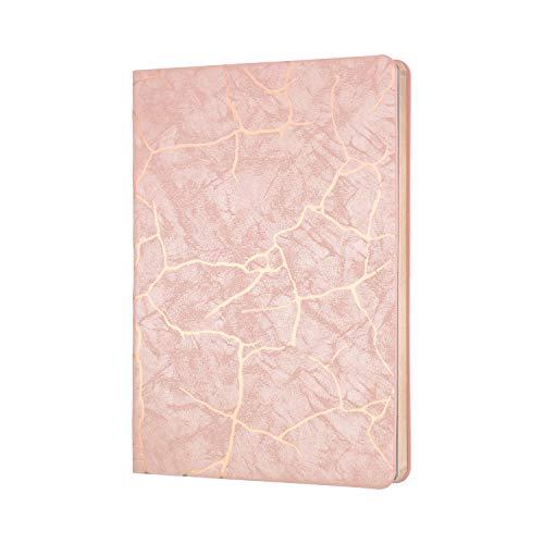 Collins Enigma - Cuaderno (A5, rayado), color rosa