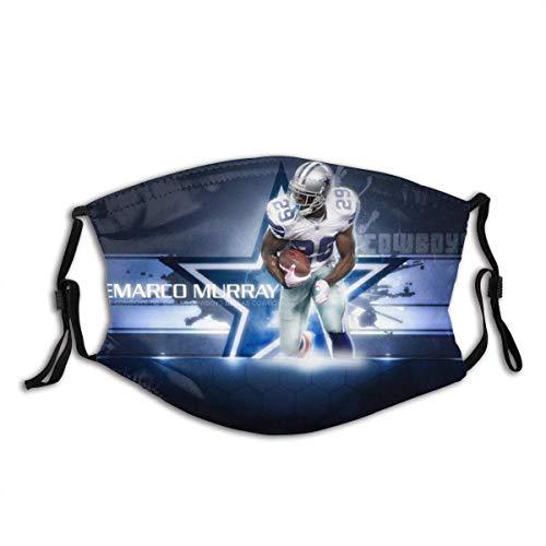 Mundschutz Dallas-Cowboys N-FL Fußball Sport 15 Unisex waschbare und Wiederverwendbare warme Baumwollgesichtsdekorationen für den Außenbereich