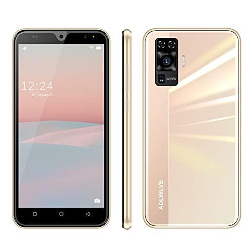 4G Smartphone Offerta del Giorno,64GB Espansa | 16GB ROM 5.5 Pollici Android 9.0 8MP, Offerta Del Giorno Smartphone Telefono Cellulare con Wifi Dual SIM 3600mAh Cellulari e Smartphone (oro)