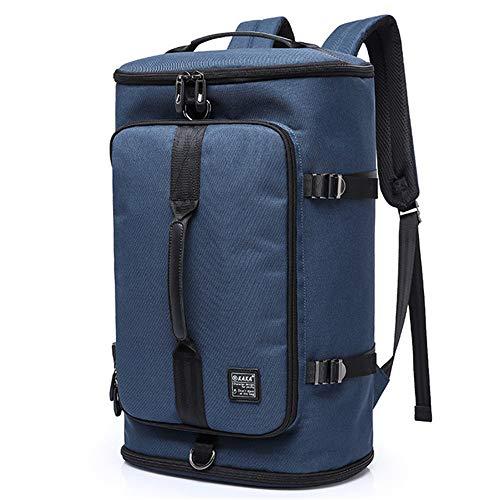 40L Men Backpack 15.6 Laptop bag Shoes Bags For Teenagers School Bagpack RucksackBlue235032cm