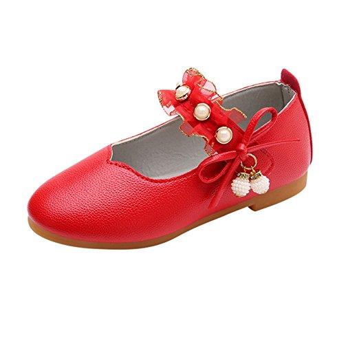 Bébé Fille Chaussures, Manadlian Chaussures de Princesse Bowknot Enfants Casual Chaussures Simples Filles Chaussures de Soirée