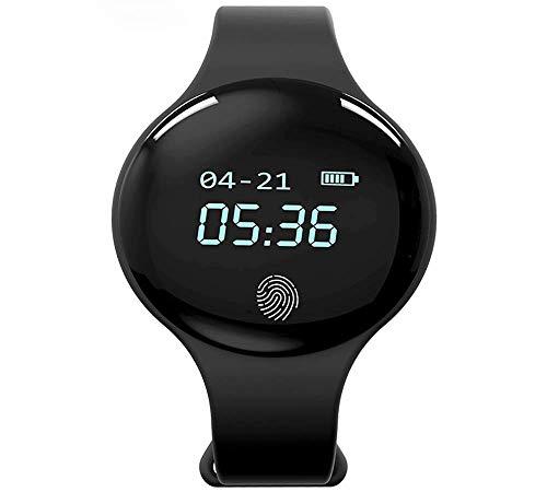 MNBVC Reloj Digital, Pantalla Grande LED multifunción Reloj de Fitness Inteligente de Moda Rastreador de Actividad con Contador de Pasos Alarma de Contador de calorías Reloj de Pulsera Deportivo al