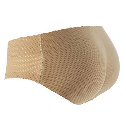 YUENA CARE Mujer Faja Braga Reductora Moldeadoras Sin Costuras Bragas Push Up con Almohadillas Levanta Glúteos para Mujer Nalgas Push Up