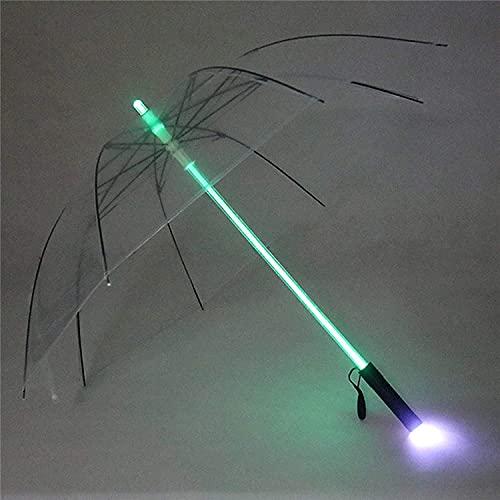JIAJBG Pequeño Mini Paraguas Parasol Portátil Liviano Solampista Al Aire Libre Al Aire Libre; Paraguas de Lluvia con Diseño Compacto Ligero Perfecto para Viajar, Claro Reutilizable
