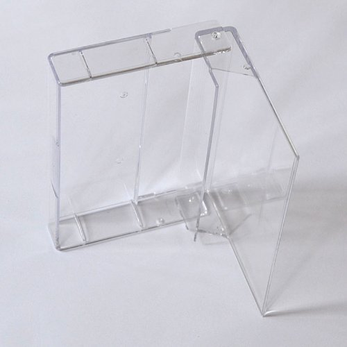abc promedia Musik-Cassettenhüllen, MC-Kassetten-Archiv Hüllen, transparent-hochklar ohne Pin (20 Stück)