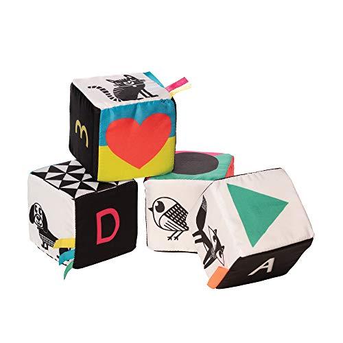 Manhattan Toy Jouet d'activité pour bébé Soft Mind Cubes Wimmer-Ferguson, 217520, Multicolore