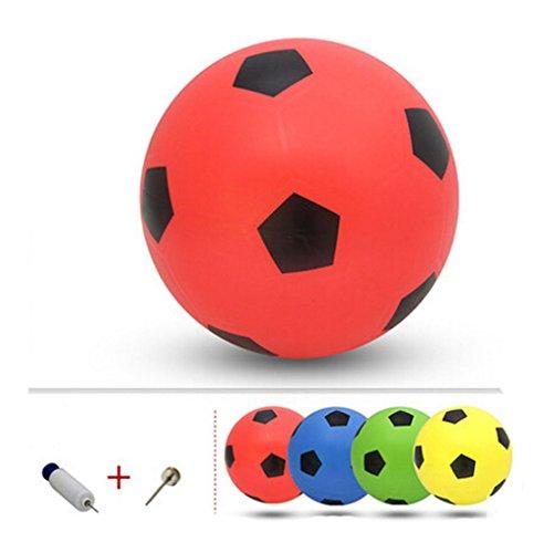 Blancho Gonflable Soccer Balls Pool Party Favor beachballs Anniversaire extérieure Rouge