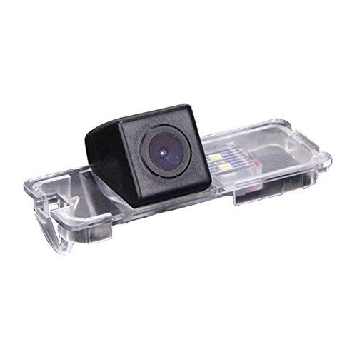 Navinio Rückfahrkamera kennzeichenbeleuchtung mit Einparkhilfe für VW /Polo /2C /Bora /Golf /MK4 /MK5 /MK6 /Beetle /Leon