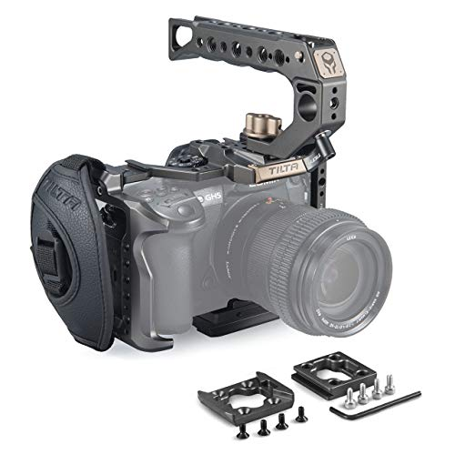TILTA TA-T37-A-G GH Series kit A Camera Cage Kamera Käfig für Panasonic GH4 GH5 GH5s Series Tiltaing Rig (Tilta Grey) (GH Series kit A)