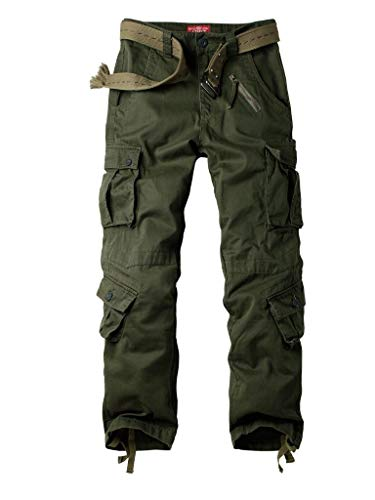 Alfiudad Womens Cargo Pants with Pockets, Women's Casual...