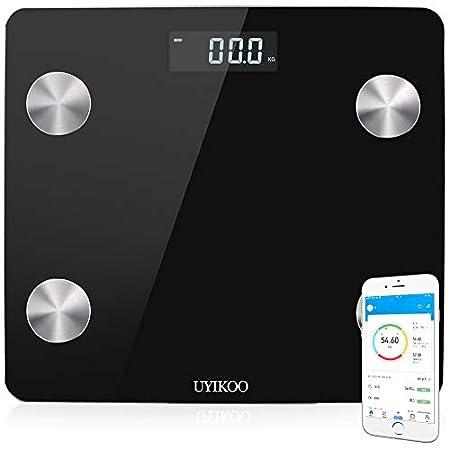 【本日最終日】UYIKOO Bluetooth対応スマート体重計・体組成計 1,547円送料無料から!