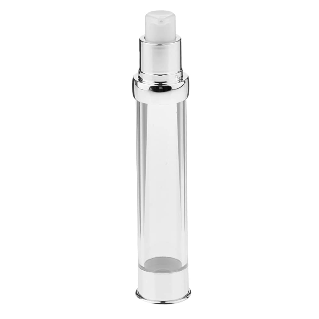 無意味とまり木保全Blesiya ポンプボトル  エアレスローションボトル ローション 化粧 クリーム 液用 エアレス 容器 4サイズ - 30ml