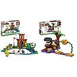 lego super mario fortezza sorvegliata pack di espansione, giocattolo, set costruzioni & super mario incontro nella giungla di categnaccio pack di espansione, gioco costruibile con figura pungipalla