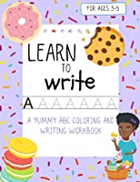 Sweet as Me! ABC Writing and Coloring Workbook