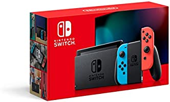 Nintendo Switch with Neon Blue and Neon Red Joy‑Con - HAC-001(-01)