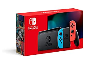 Nintendo Switch with Neon Blue and Neon Red Joy‑Con - HAC-001(-01) (B07VGRJDFY) | Amazon price tracker / tracking, Amazon price history charts, Amazon price watches, Amazon price drop alerts