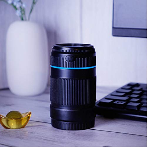 SUNHAO Humidificateur lentille de Simulation USB Mini Voiture nébuliseur muet purificateur d'air par ultrasons