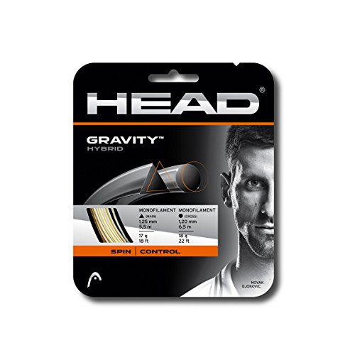 HEAD Gravity Tennis String Set, White/Grey