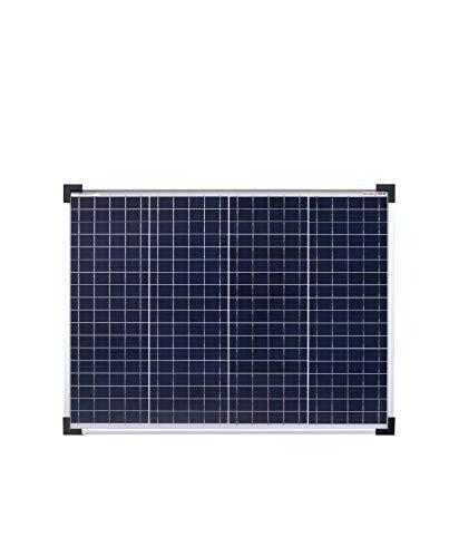 enjoysolar® Poly 50W 36V Polykristallin Solarpanel Solarzelle 50Watt ideal für Wohnmobil, Gartenhäuse, Boot (50W 36V)